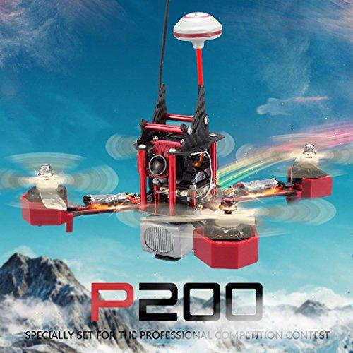 JJRC JJPRO-P200 5.8G FPV Jumper HD Camera 2.4G 6 Channel 800TVL Quadcopter RTF,Tuscom@ by Tuscom