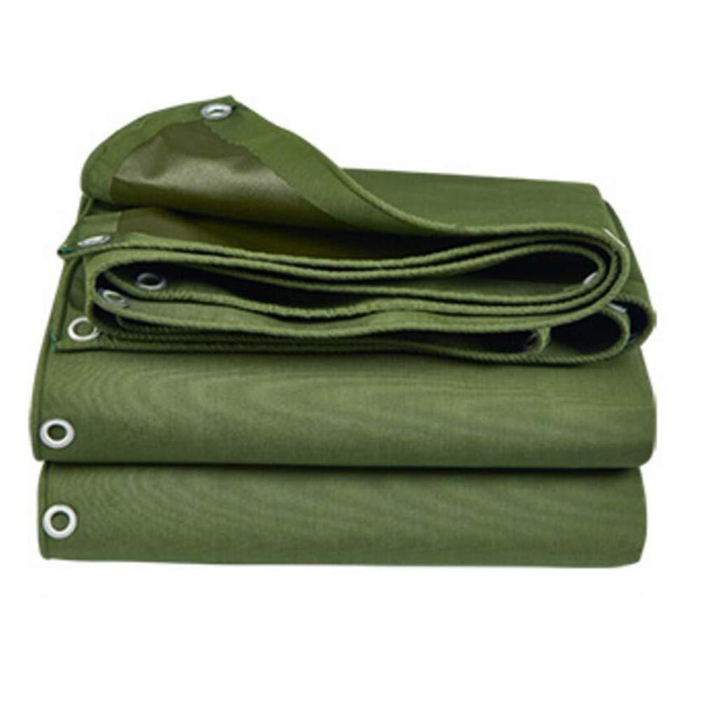 MuMa Plane Armeegrün Wasserdicht Sonnencreme Schatten Silikon Stoff Draussen Anpassen (Farbe : Armeegrün, größe : 2  1.5m)