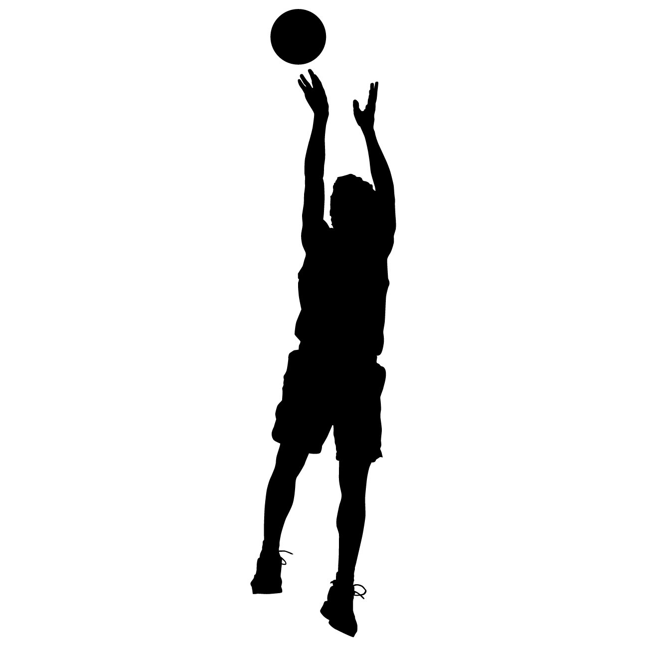 amazon com basketball wall decal sticker 39 decal stickers and amazon com basketball wall decal sticker 39 decal stickers and mural for kids boys girls room and bedroom sport vinyl decor wall art for home decor and