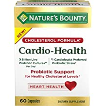 Nature's Bounty Cardio-Health Capsules, 60 Count