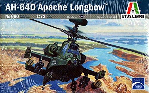 The Hobby Company Italeri 0080S AH-64D Longbow Apache Model - Longbow Vision