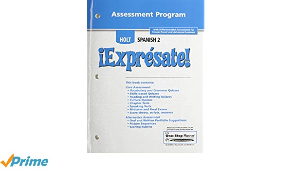Exprsate assessment program level 2 rinehart and winston holt assessment program level 2 rinehart and winston holt 9780030744167 amazon books fandeluxe
