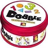 Asmodee–docf01N–Action-Spiele–Reflex und Dobble Zahlen und Formen