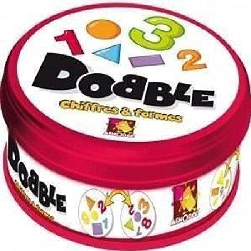 asmodee - docf01n - jeux d'action et de réflexe - dobble chiffres et formes