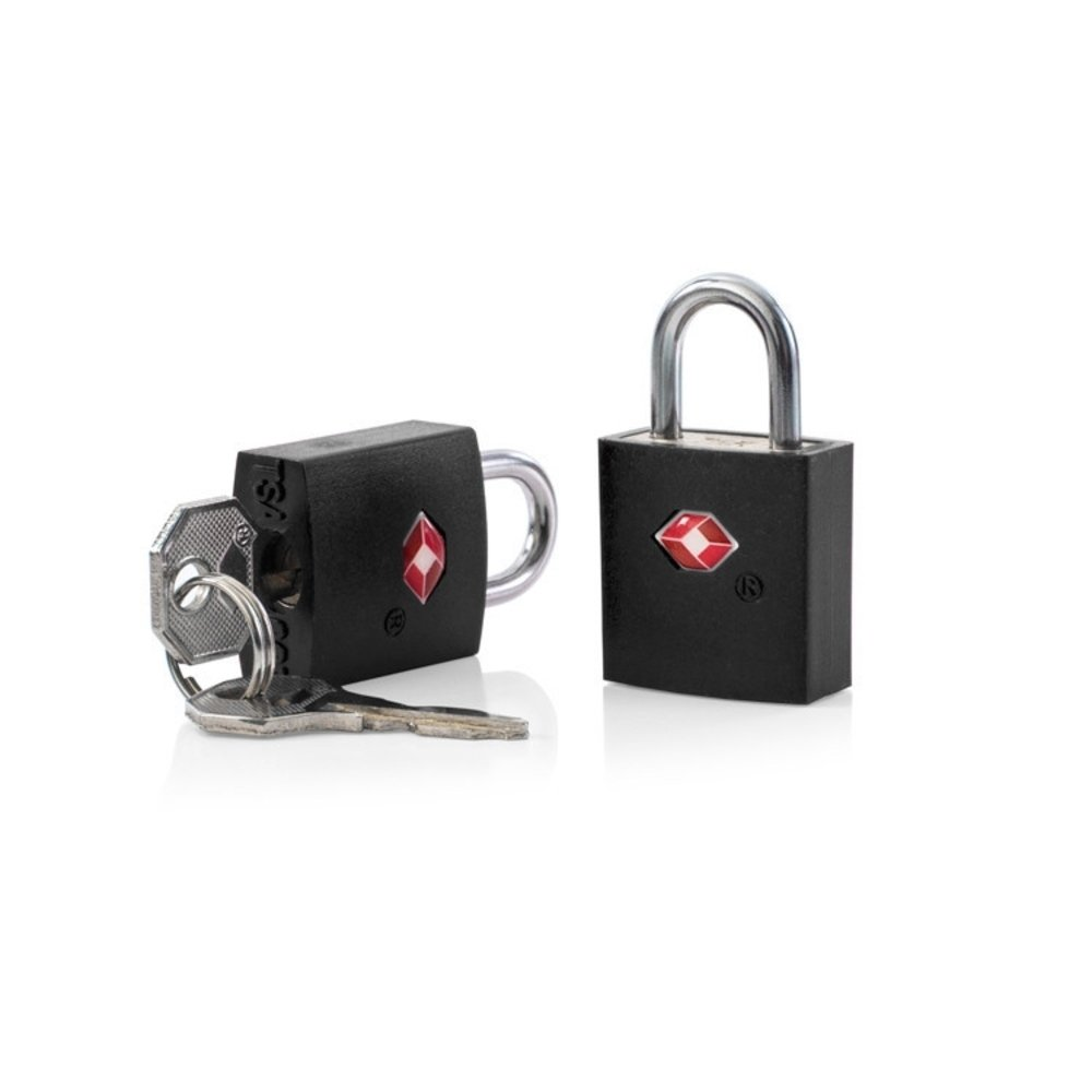 Heys TSA Key Lock 2pc Set Black
