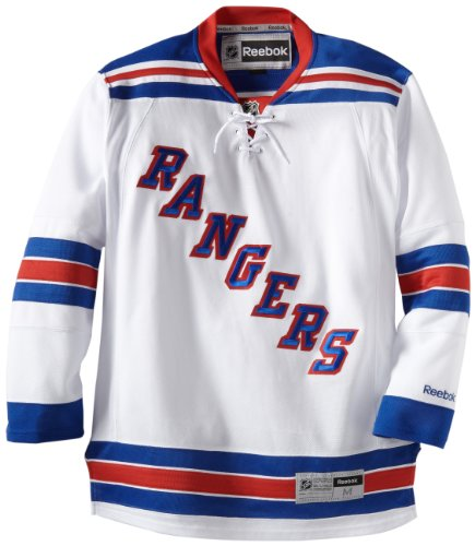 New York Rangers Jersey (NHL New York Rangers Premier Jersey, White,)