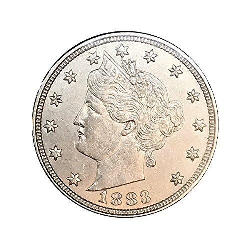1883 Liberty Head V Nickel - No Cents - Gem BU / MS / UNC