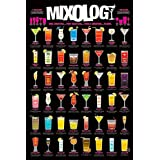 Mixology Cocktails College Alcohol Drinking Poster 24 x 36 inches
