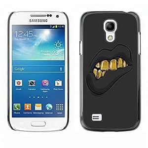 Dragon Case - FOR Samsung Galaxy S4 Mini i9190 - I have nothing - Caja protectora de pl??stico duro de la cubierta Dise?¡Ào Slim Fit