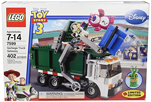 LEGO Toy Story 3 Exclusive Limited Edition Set #7599 Garbage Truck Getaway - Stinky The Garbage Truck Toys