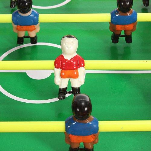 MINI Joueur Jouet jeux Baby-foot Football de Table Ancien Plastique PR Tiges  36.7X35.5X6.3cm  Amazon.fr  Jardin 41d6c24aa867