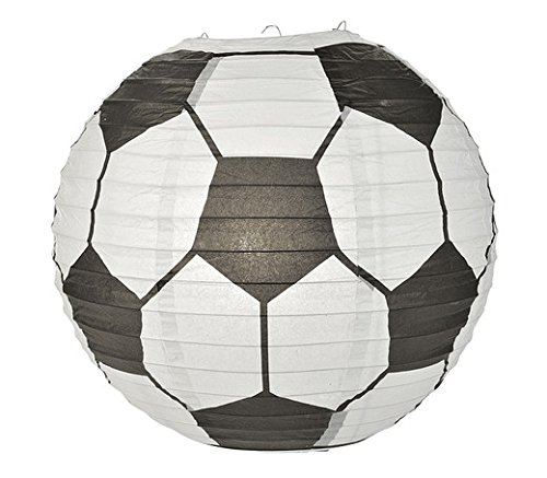 WGI Soccer Ball Paper Lantern (Set of 2) by WeGlow International