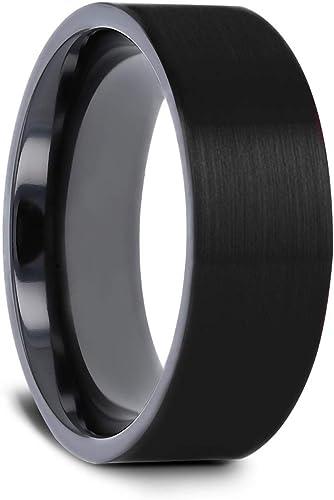 Domed Polished Finish Titanium Men/'s Wedding Band Lightweight Titanium Comfort Fit 8 mm Thorsten Peterson Titanium Rings for Men