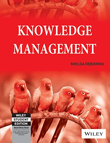 KNOWLEDGE MANAGEMENT (WILEY STUDENT EDITION)