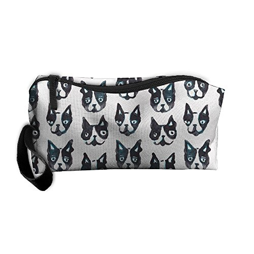 Portable Travel Storage Bags Puppy Clutch Wallets Pouch Coin Purse Zipper Holder Pencil Bag,kits Medicine And Makeup Bags ()