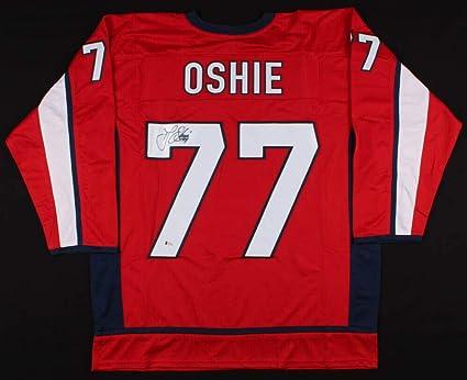 100% authentic 84415 98b73 T.J. Oshie Autographed Signed Memorabilia Washington ...