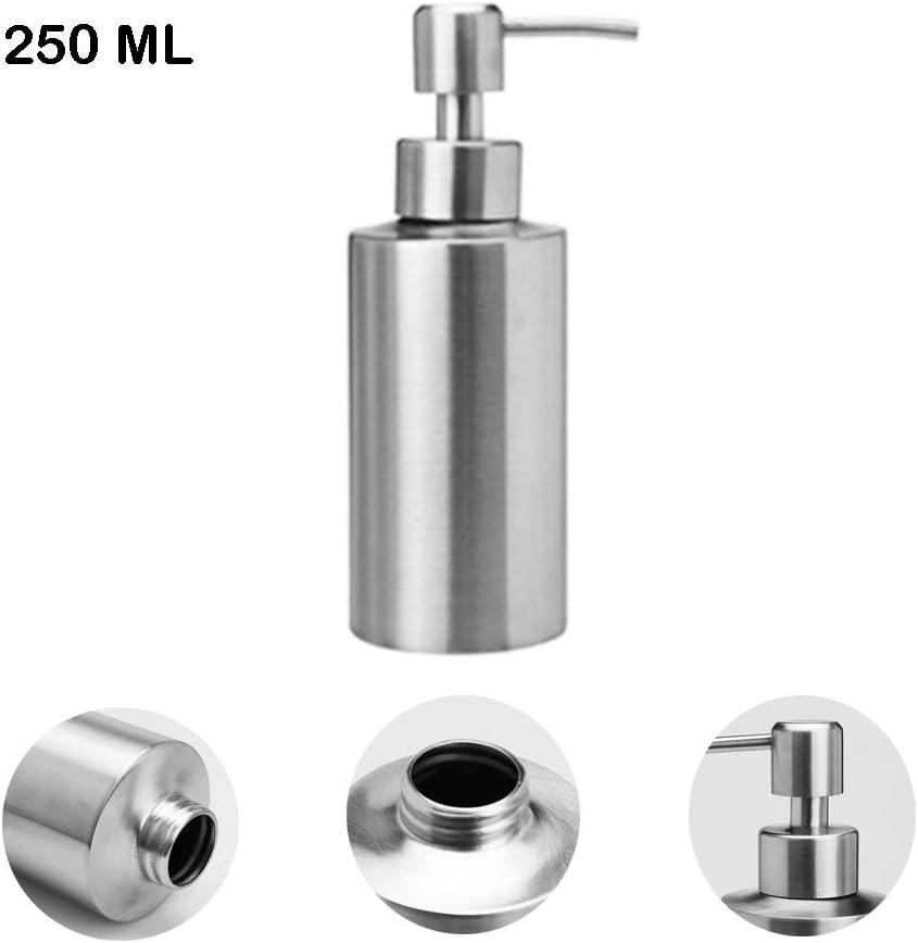 Gris 250 ml acero inoxidable Eon Systems Dispensador de jab/ón
