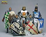 Monty Python Holy Grail Knights Set of 5