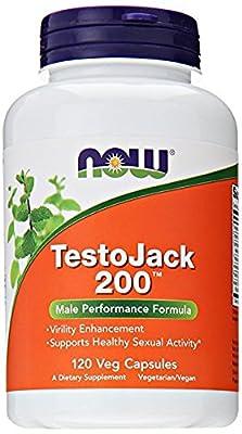 NOW Foods - TestoJack 200 with Tongkat Ali