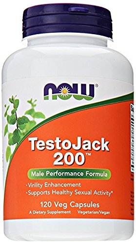 Now Foods, TestoJack 200, 60 Veggie Caps