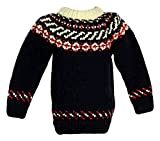 Crewcuts Kids Canadian Sweater Company Hand Knit Wool Sweater Sz M B5259