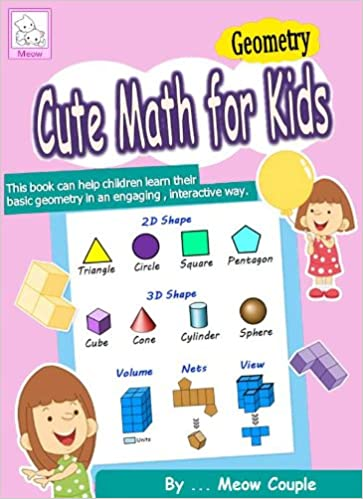 Cute math for kids : Geometry (INTERACTIVE Color Quiz - Ebooks