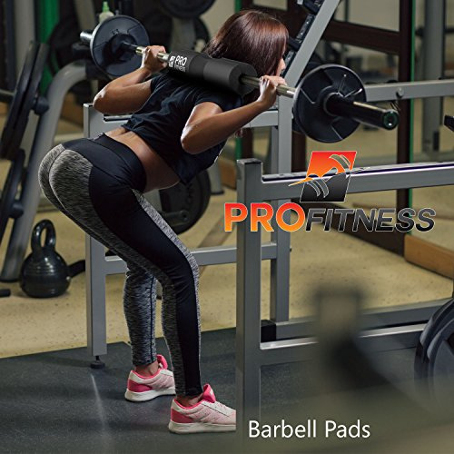 ProFitness Barbell Pad Squat Pad Shoulder Support for Squats, Lunges & Hip Thrusts For Olympic or Standard Bars