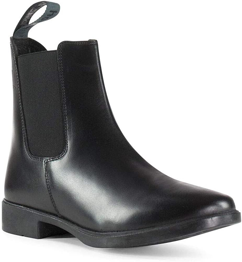 HORZE Signature Paddock Today's only Boots Black unisex - 6.5