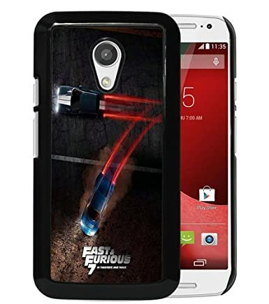 Amazon.com: Moto G 2nd Case,Fast and Furious 7 Black ...