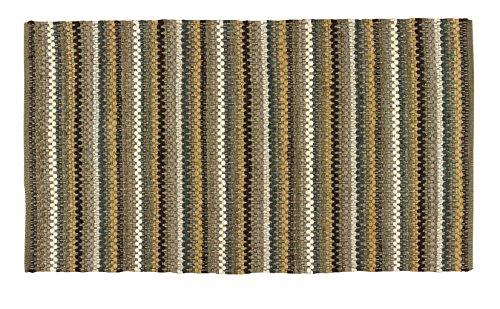 "Park Designs Mineral Stripe Rag Rug 36X60, 36"" x 60"""