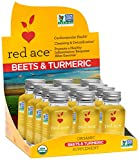 red ace organic beet juice - Red Ace Organic Beets & Turmeric Shots, 12 Count