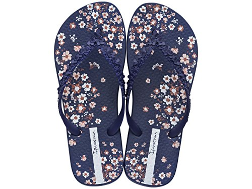 Floral Flip Flops Bleu Sandales Fashion Ipanema Femmes q78Cn5wxWE