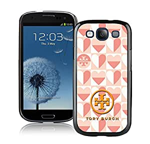New Antiskid Designed Cover Case For Samsung Galaxy S3 I9300 With Tory Burch 52 Black Phone Case