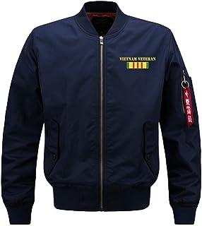 NBNNB Männer Klassische Gesteppte Gepolsterte Mantel Outwear Casual MA1  Bomber Flug Leichte Jacke übergroßen a0046d01c0