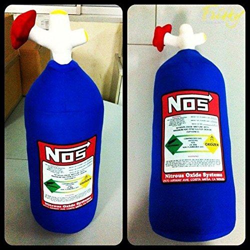 NOS Nitrous Oxide Bottle Tank Pillow Cushion Toy/ Gift/ Home Decor/ Accessories