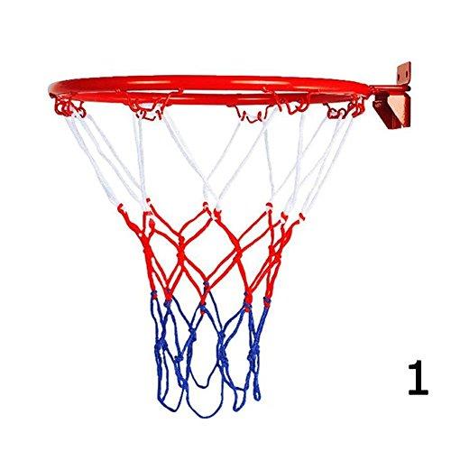 BleuMoo Wall Mounted Hanging Basketball Goal Hoop Rim Net (32cm) – DiZiSports Store