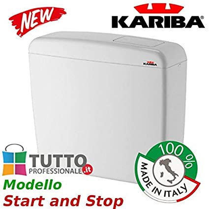 Cassetta Universale Wc Kariba Super Eco Start And Stop Made In