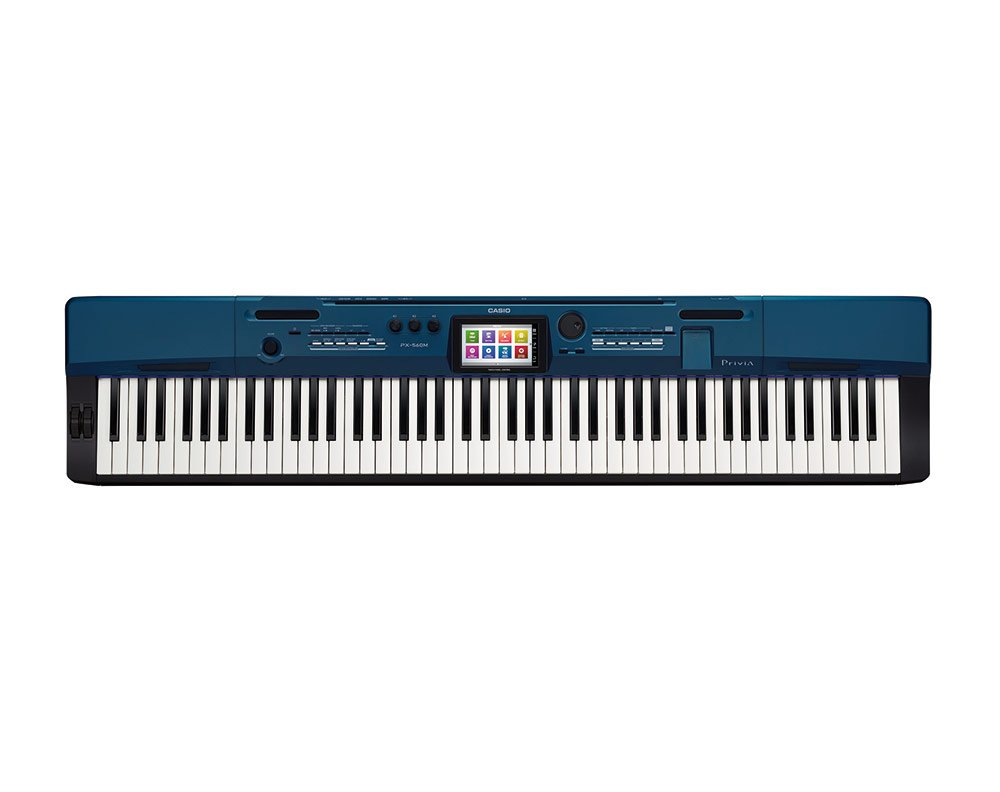 Casio PX560BE 88-Key Digital Stage Piano, Blue, Digital Piano by Casio