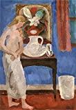 Vanessa Bell The Blue Room, Wissett Lodge 1916 Private Collection 30' x 21' Fine Art Giclee Canvas Print (Unframed) Reproduction
