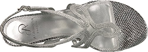 Rope Womens Adrianna Papell Cannes Silver Metallic xqvX5HvPw