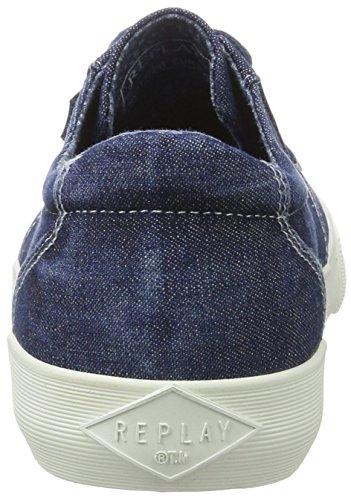Navy Herren Sneaker Replay Blau Kolen qFIHdHEw