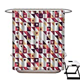 Best Creative Bath Shower Caddies - BlountDecor Casino Shower Curtain Customized Pattern The Cards Review