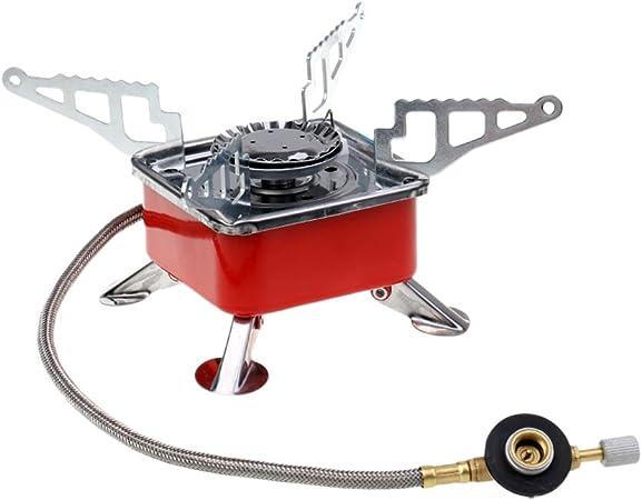 FLAMEER portátil alta potencia plegable butano Estufa a Gas ...