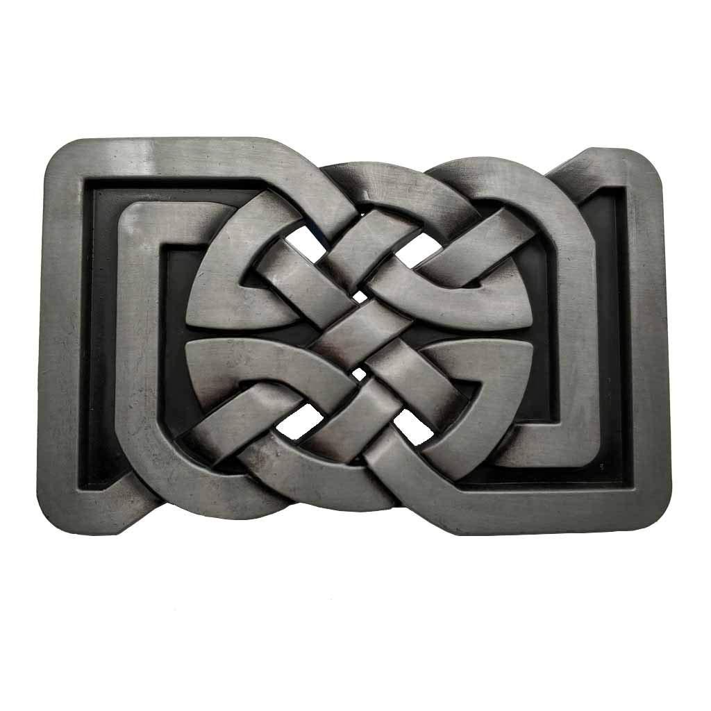 Rectange Celtic Knot Belt Buckle 1-ONE