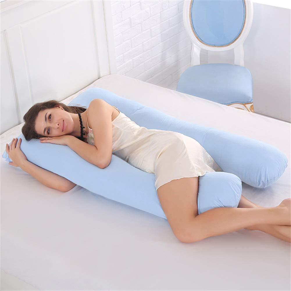 人気定番 U字型の妊娠枕綿の枕カバー取り外し可能で洗える側睡眠枕妊娠中の柔らかくて快適な寝具良いヘルパー,Pink Blue B07QWTQQGB B07QWTQQGB Blue Blue Blue, セクトインターナショナル:0549029b --- cliente.opweb0005.servidorwebfacil.com