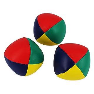 LIOOBO 3pcs Juggling Balls Durable Soft Easy Juggle Balls Giocattoli interattivi per Bambini per Principianti Juggle Kids And Adults 6.3cm