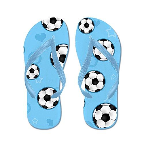 Cafepress Flip Flops - Flip Flops Caribbean Blue