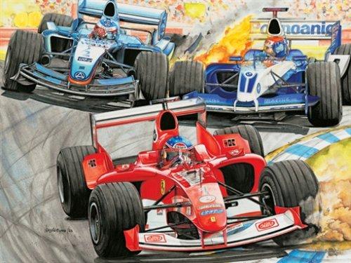 Formula 1 Racing 13118 Ravensburger Kids 300 Piece Puzzle