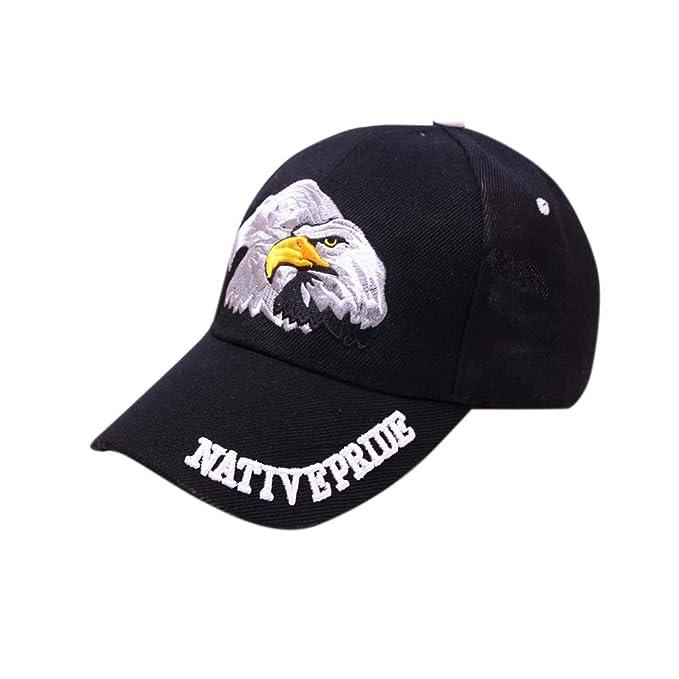 Cebbay Gorras Beisbol Casuales Sombreros Hip Hop Gorras de béisbol para Unisex Hombre Mujer Bandera Americana (A): Amazon.es: Ropa y accesorios