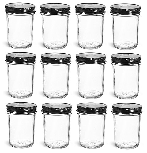 8 oz mason jars - 3